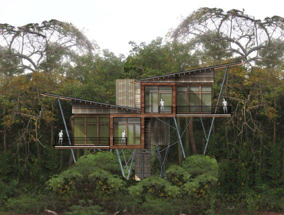 Tiny Home Designs: New Jungle Resort!