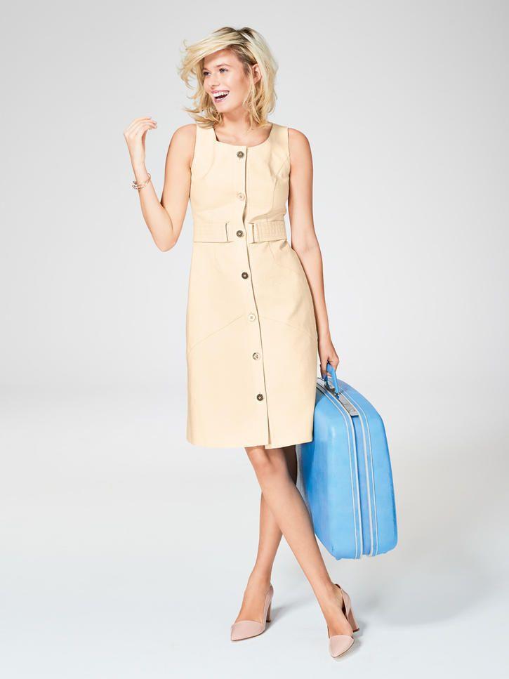 7c3a92dd0a6f Mit diesen Schnitten im Stil von Jacky Kennedy und Twiggy – die Stil…    Kleid   Pinte…