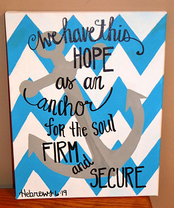 Chevron Quote by LaurynPaints on Etsy, $30.00