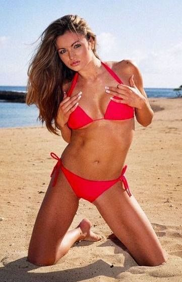 Something is. maria kanellis in bikini seems me