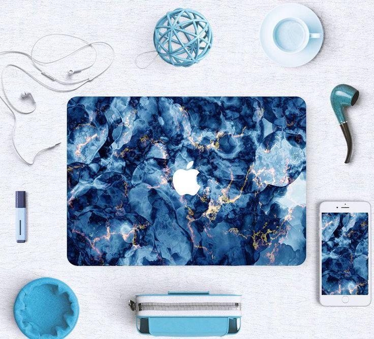 Macbook Skin Decal Sticker - Blue Deep Ocean