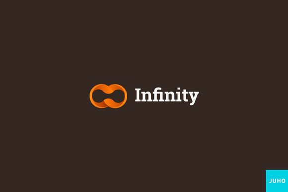 Infinity Logo Template by JuhoDesign on @creativemarket