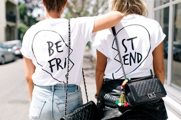 Best Friends T-Shirts   Girl Gang by They All Hate Us