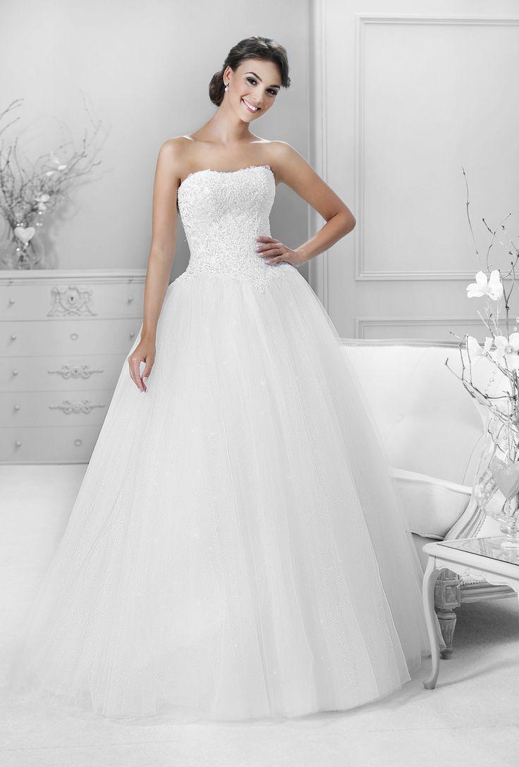 široká tylová sukně Agnes 14320
