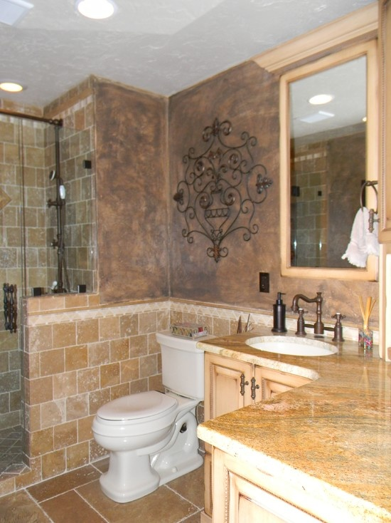 Mediterranean Bathroom Kids Bathroom Design, Pictures, Remodel, Decor and Ideas - page 308