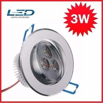 Lámpara Panel Led Spot Ojo De Buey Para Techo Blancas 3 Led - Bs. 7.999,00 en Mercado Libre