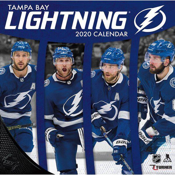 Tampa Bay Lightning 2020 16 Month Wall Calendar Tampabaylightning Tampa Bay Lightning Tampa Bay Nhl