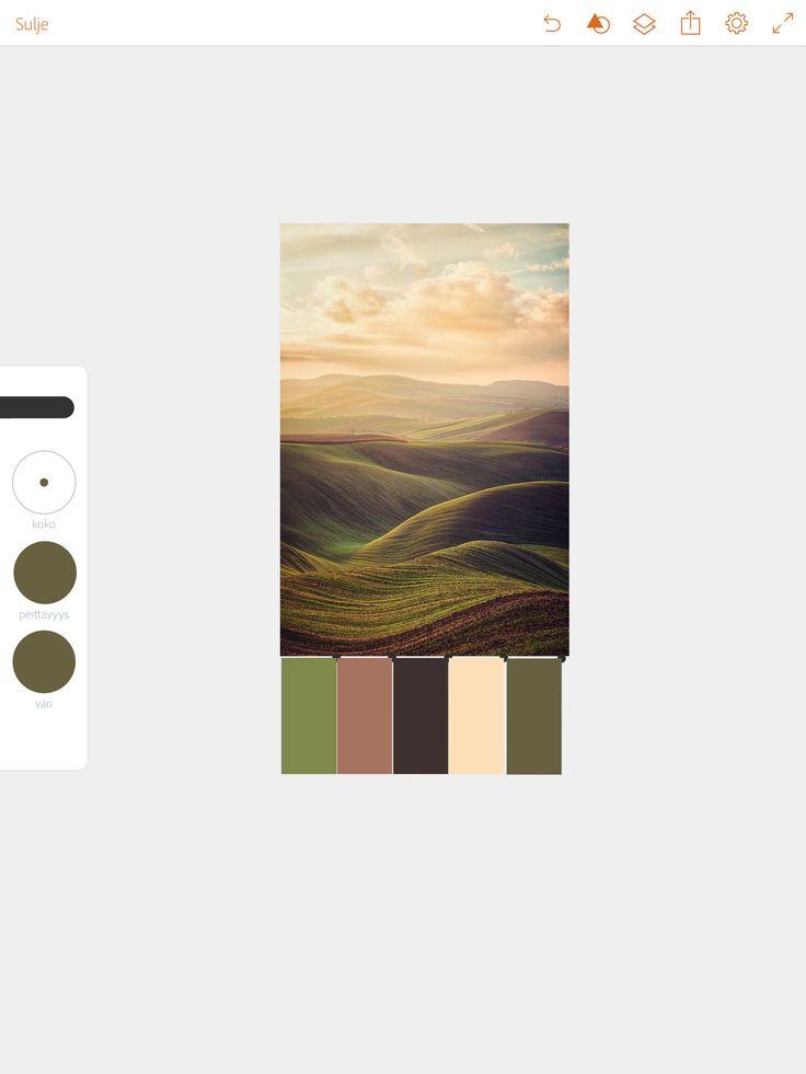 Valmis värikartta