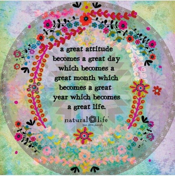 how to get a positive attitude towards life