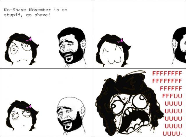 No shave november funny meme | Funny memes and pics