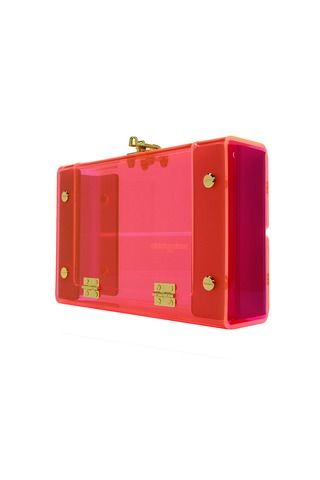 Statement Clutch - Neon by VIDA VIDA 9pX2QeUd