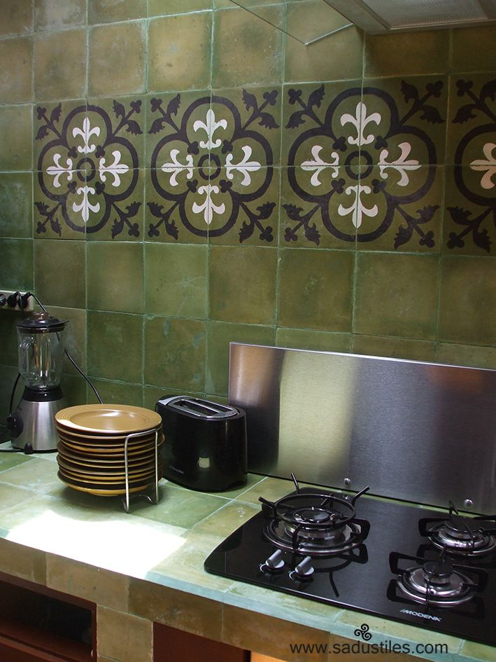 Sadus Tiles hand made cement tiles from Bali-Indonesia