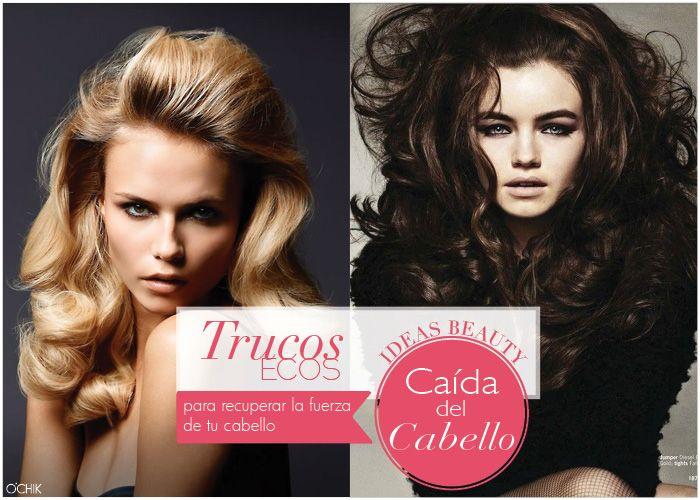 Consejos para la caída de cabello. Otoño. www.ochik.com