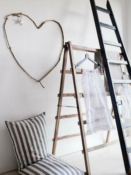 Interieur met natuurlijke kleuren en materialen. Sprekende details. Gezellig, knus, thuis. #Pintratuin