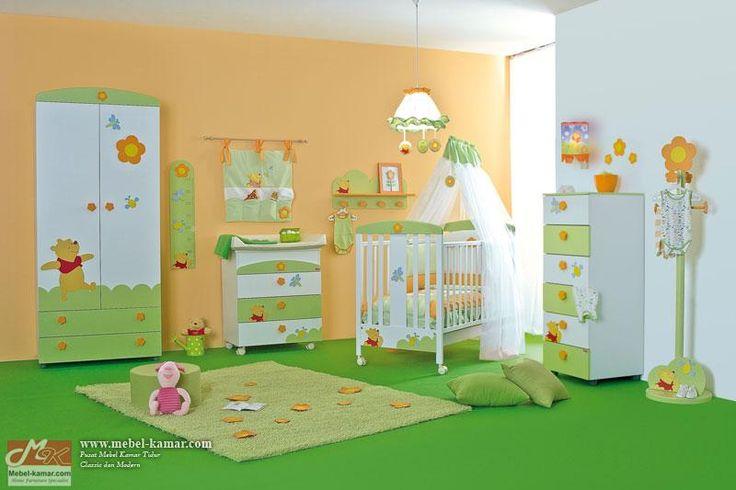 Set Kamar Bayi Gambar Panda (SKB1)