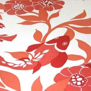 1000 images about under the sea fabric prints on for Koi fish print fabric