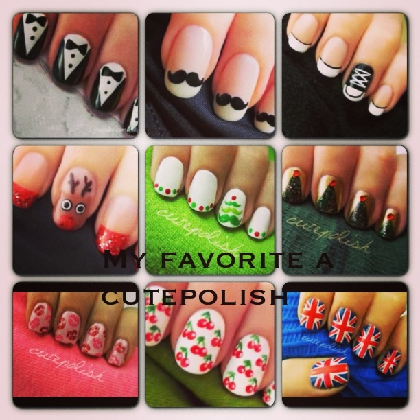 65 best cutepolish images on Pinterest | Nail scissors, Christmas ...