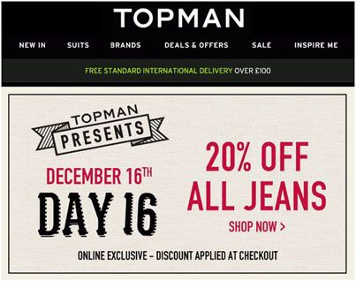 Topman com coupon code