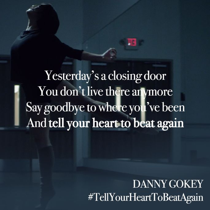 How can you relate to Danny Gokey's song #TellYourHeartToBeatAgain? Watch the EXCLUSIVE World Premiere video on klove.com! Get his album #HopeInFrontOfMe on Apple Music: http://klove.cta.gs/1sq
