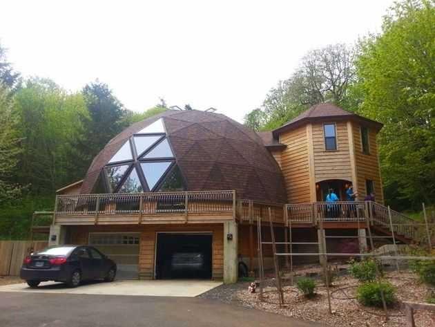 Geodesic Dome Houses - Imgur