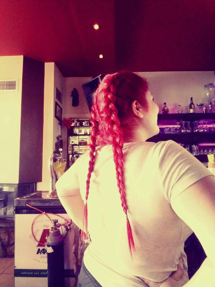 My red braids ❤