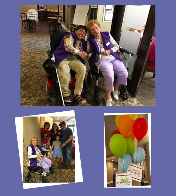 Residents and Families enjoyed their time at the ORCA Open House!