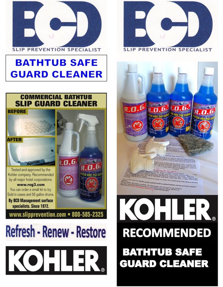Kohler Cleaner. Clean BathtubKohler BathtubBathtub CleanerBest ...