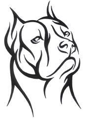 tribales de pitbulls : Los encontre en internetSaludos | my_pitbull