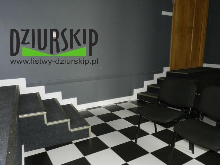 listwa podłogowa na schodach  our Skirting board Made in Poland!