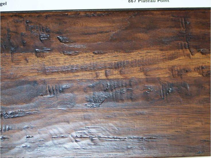 25 best ideas about Distressed wood floors on Pinterest