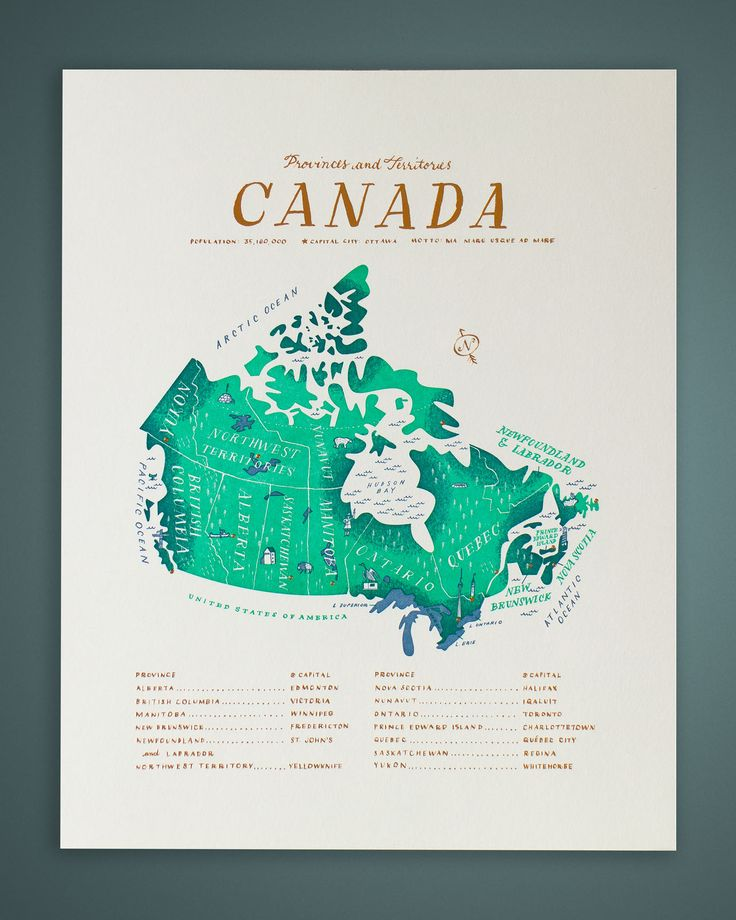 The Canadianist The Map Tom Froese