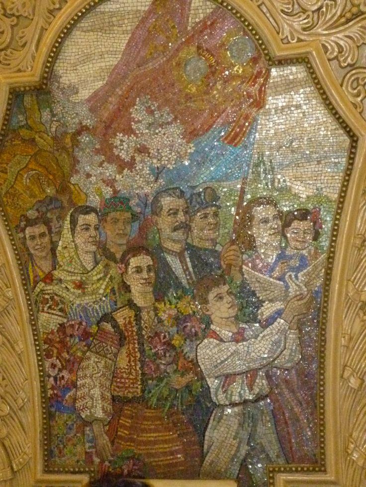 Moscow Metro mosaic