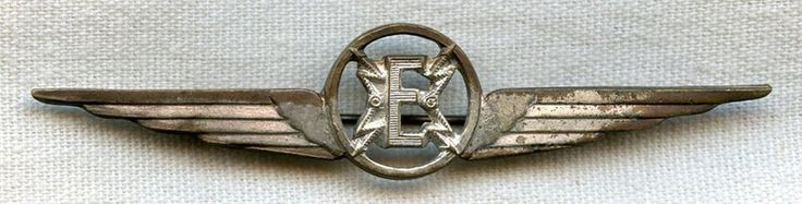 WWII Italian Air Force Aviation Electrician Specialist Badge
