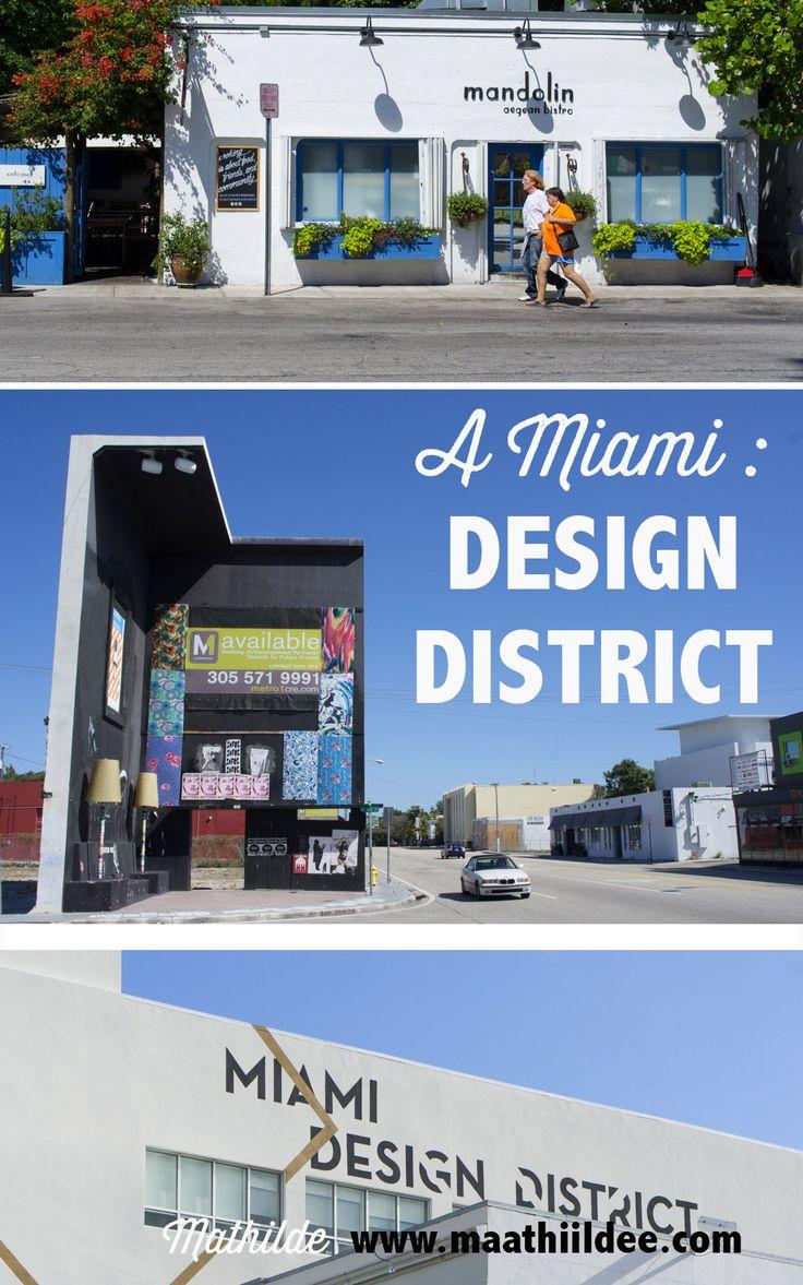 Le Design District de Miami est un nouveau quartier de la ville dédié... au design. Plus chic que son voisin déjanté Wynwood, j'ai bien aimé marcher dans ses rues ensoleillées où le design dernier cri s'affiche en vitrine.