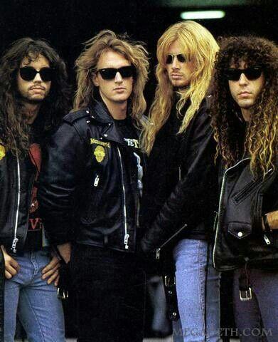 Megadeth favorite  heavy thrash metal  band -m/ alls  time