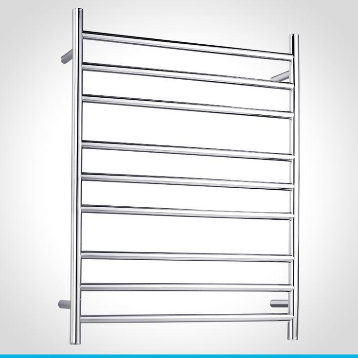 resonance chrome 9 bar towel ladder towel railladdersbathroom accessoriesplumbingmodern
