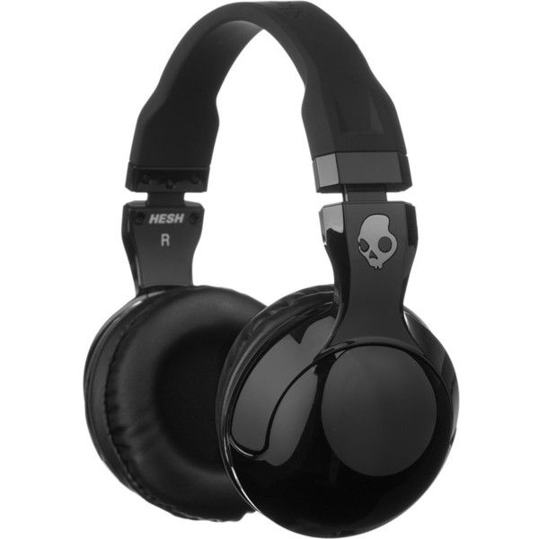 Skullcandy Hesh 2.0 Headphones with Mic (€36) ❤ liked on Polyvore featuring accessories, tech accessories, headphones, tech, skullcandy and skullcandy headphones