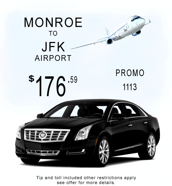 Bond Limousine Monroe Connecticut to JFK Airport transportation Special. Call Today 800.617.6427 Clean on time and Affordable serving Connecticut since 1997.