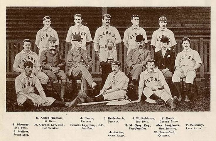 The Derby County Baseball Club was a baseball club in Great Britain that played baseball until 1898 when football become the dominant sport in that region. To the British gentleman, baseball was an awkward sport that was the direct descendant of cricket, a game that rivalled with golf in popularity at that time.