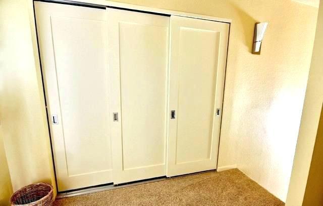 Triple Sliding Wardrobe Door Track Sliding Doors Interior