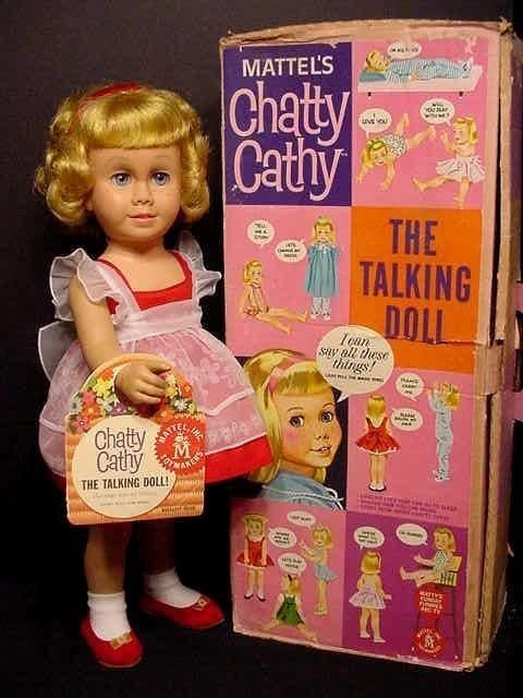 Chatty Cathy | 19 Things Every Baby Boomer Will Immediately Remember