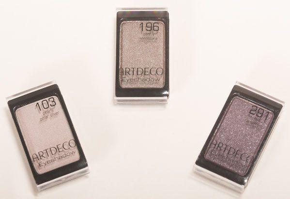 #Тени для век #ARTDECO #Eyeshadow 103 Polar Silver, 196 #Moonstone, 291 Dark #Amethyst - #PerfettoME