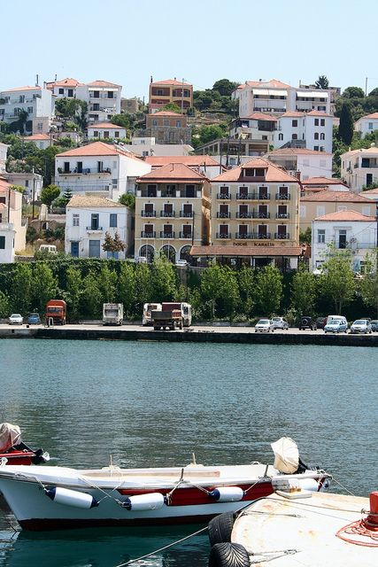 the Karalis Hotel. Pylos, Greece was my home away from home for a summer and my first field school