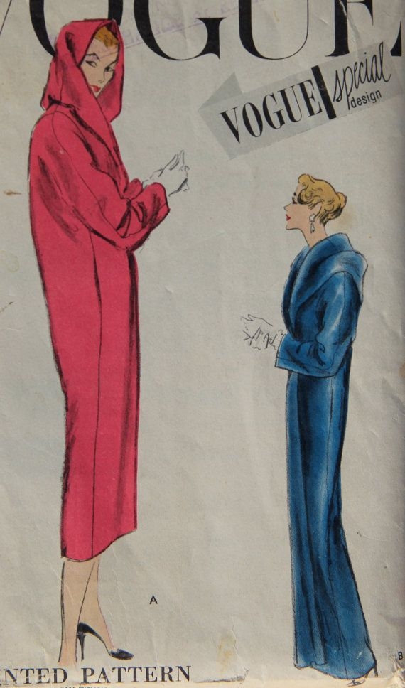 1950s Vogue Special Design 4739 Vintage Sewing by GreyDogVintage