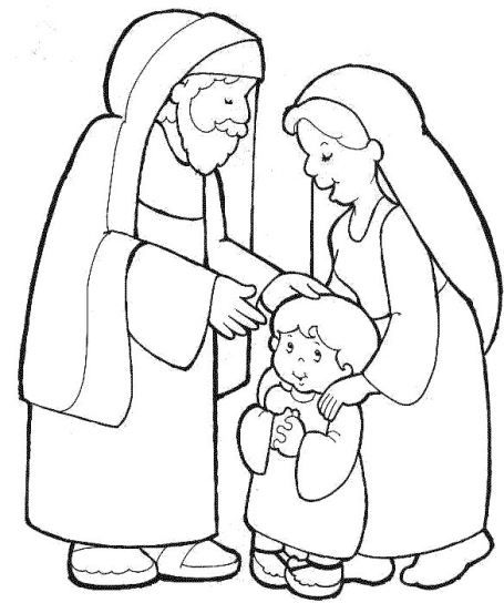 hannah and samuel coloring pages - photo#7