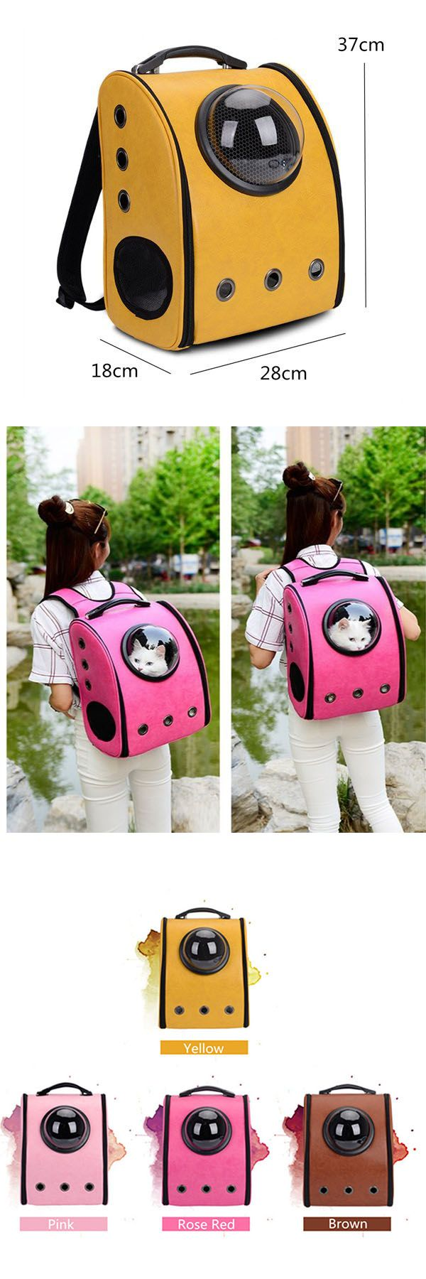 Yep. Its gunna happen Dog Puppy Carrier Travel Backpack Front Net Shoulder Bag~~ Guys, click the pic or the visit button to check out our purchasing page if you'd like to have one:)#pet#stuff#bag#carrier#swag