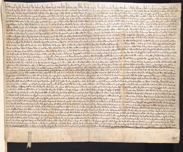 Churchill avrebbe voluto cedere l'originale della Magna Charta agli USA in cambio dell'appoggio militare nella seconda guerra mondiale.