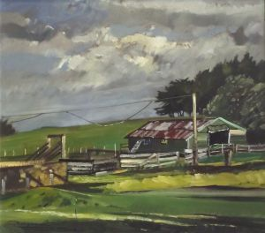 Russell Hollings, 'Ihumato' (2007) Oil on board, 720 x 670 mm (framed), POA at the Remuera Gallery