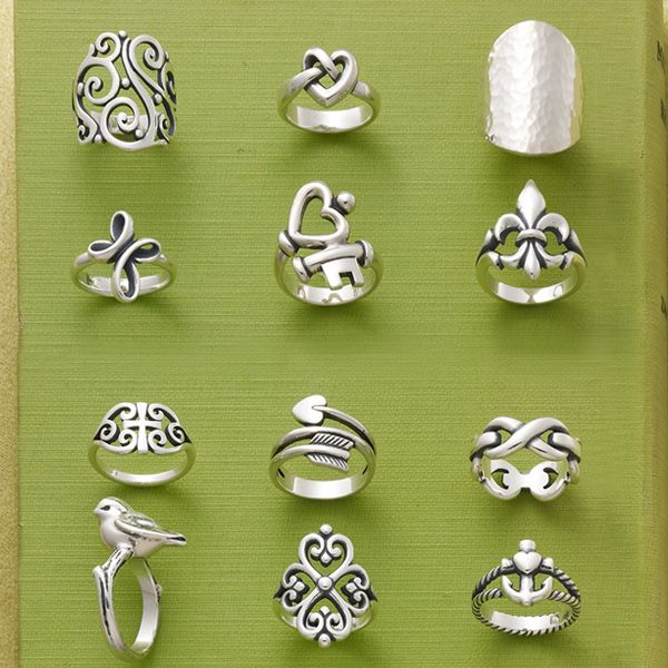 For everyday and always. Our customers tell us they love to wear these favorite rings everyday. #JamesAvery