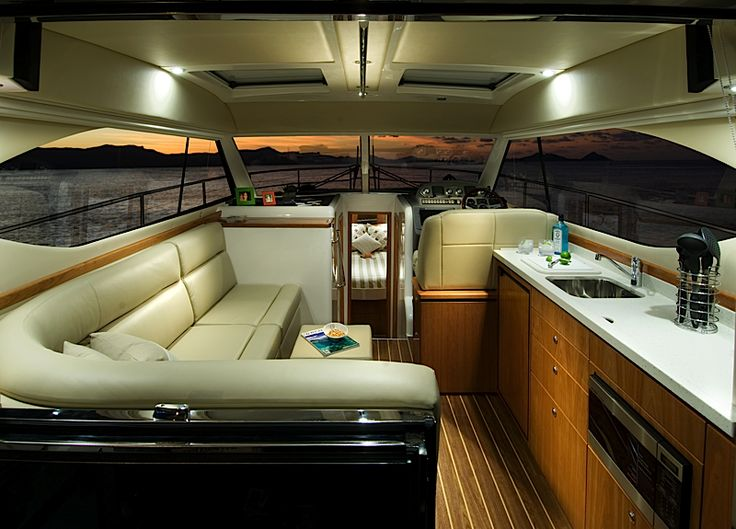 Riviera 3600 Sport Yacht Series II with IPS | Saloon